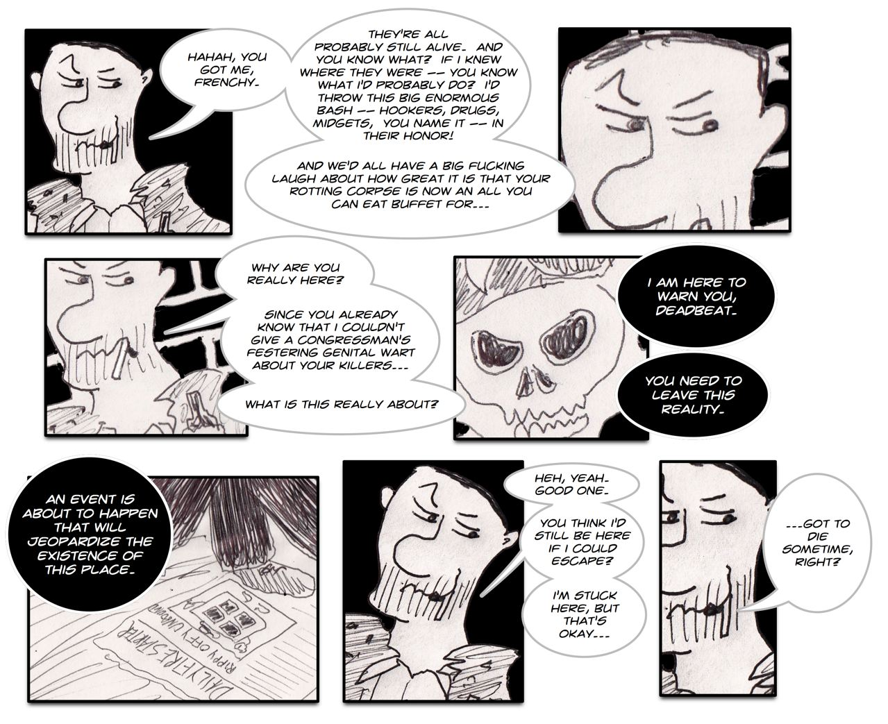 The NTB is not responsible for any Satanic Rituals this webcomic may inspire.