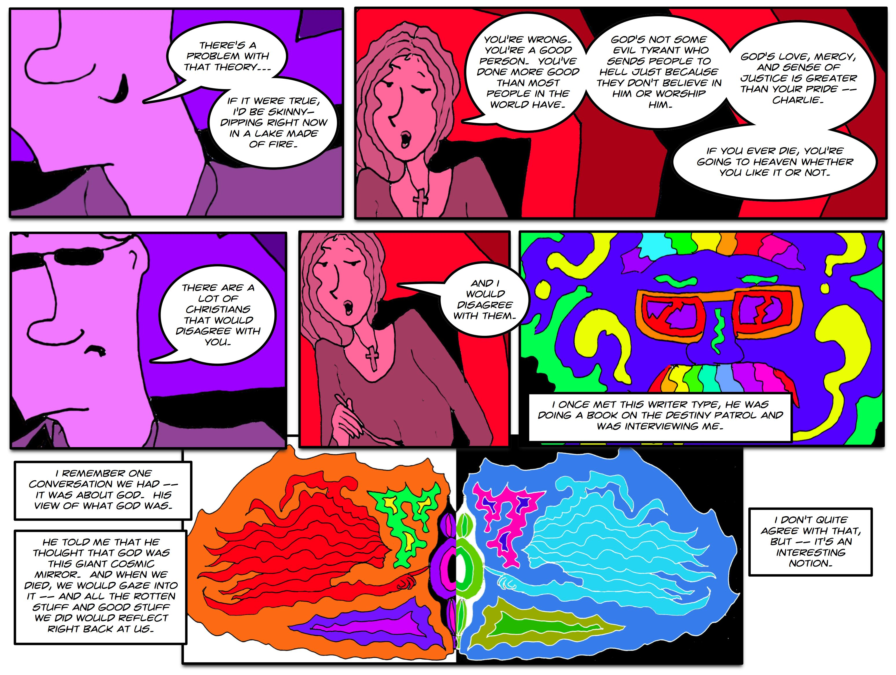 See The Electric Kool-Aid Adventures of The Mirror #45 For more info -- Edding Ed!
